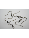 Antique Bronze Hook Earwires 19mm - 26pcs