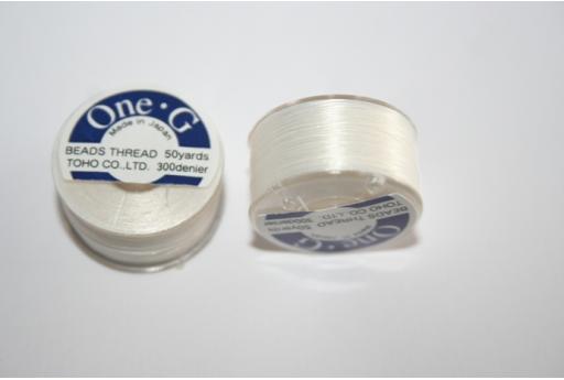 Filo Toho One-G 0,20mm 46mt. Bianco MIN89D