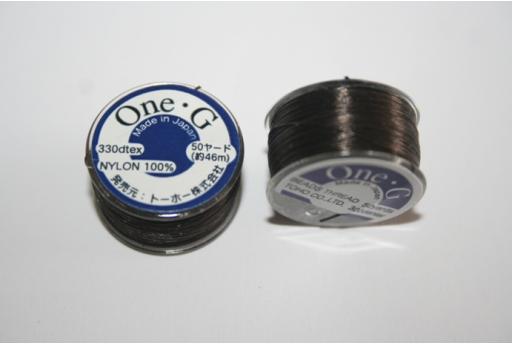 Filo Toho One-G 0,20mm 46mt. Marrone MIN89G