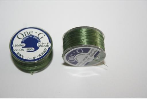Filo Toho One-G 0,20mm 46mt. Verde MIN89H