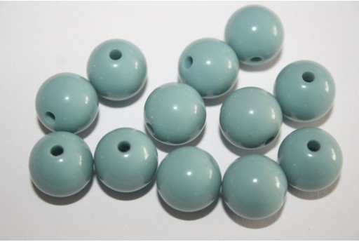Perline Acrilico Polvere Sfera 12mm - 30pz