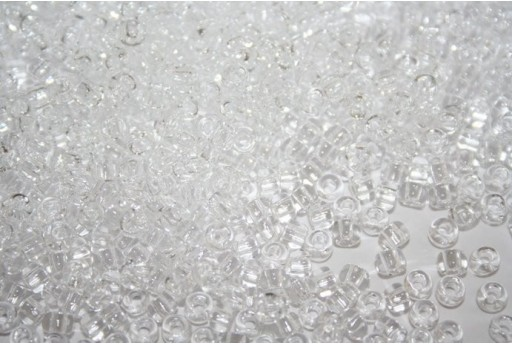 Toho Seed Beads 6/0, 10gr., Transparent Crystal Col.1
