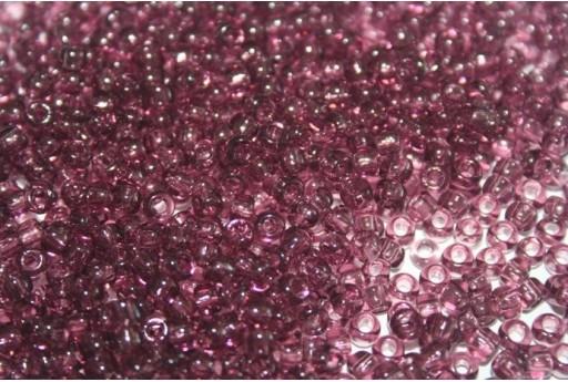 Perline Toho Round Rocailles 6/0, 10gr., Transparent Med Amethyst Col.6B