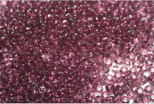 Toho Seed Beads 6/0, 10gr., Transparent Med Amethyst Col.6B