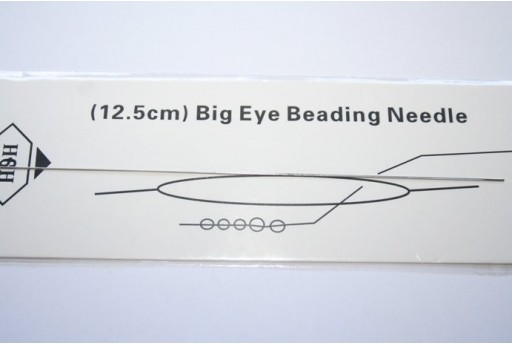 Big Eye Beading Needles 0,3x125mm