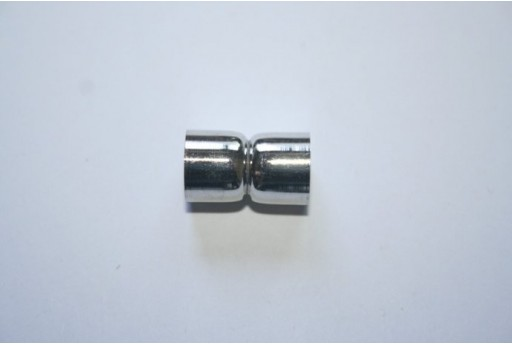 Platinum Plated Magnetic Clasp 18X11mm MIN93B