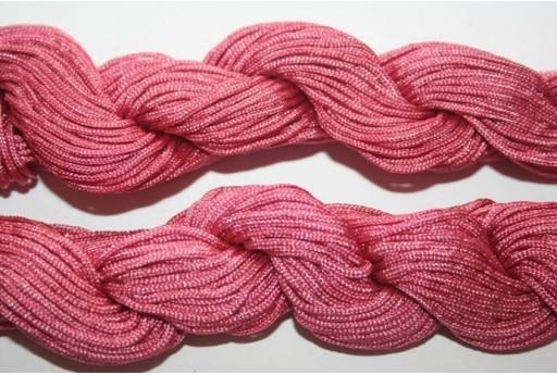 Filo Nylon Rosa Antico 1mm - 25mt