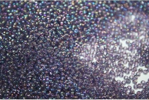 Perline Toho Round Rocailles 11/0, 10gr. Trans-Rainbow Sugar Plum Col.166D