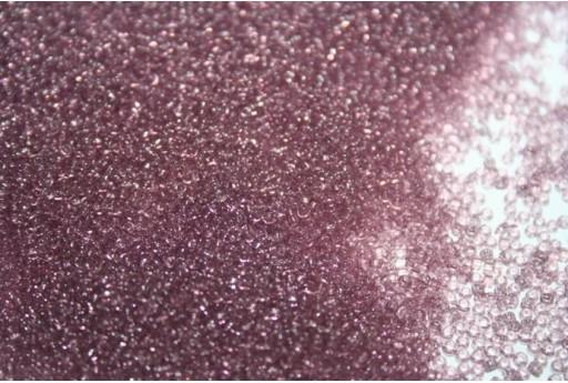 Toho Seed Beads 15/0, 10gr. Transparent Lt. Amethyst Col.6
