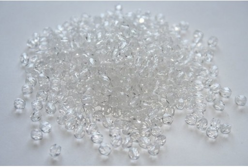 Fire Polished Beads Crystal Col.00030 4mm - 60pz