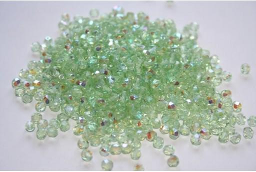 Perline Mezzi Cristalli Peridot AB