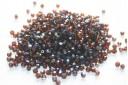Perline Mezzi Cristalli Dark Topaz AB 4mm - 60pz