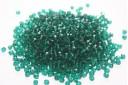 Perline Mezzi Cristalli Dark Emerald 4mm - 60pz