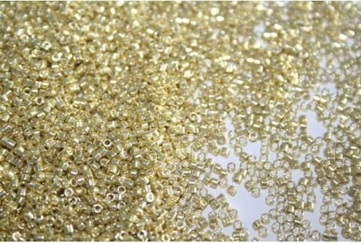 Perline Delica Miyuki Galvanized Metallic Yellow 11/0 - 8gr