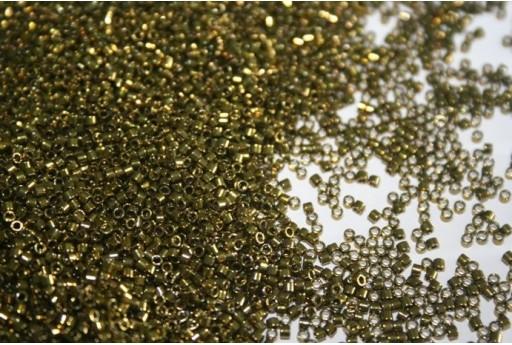 Perline Delica Miyuki Galvanized Metallic Olive 11/0 - 8gr