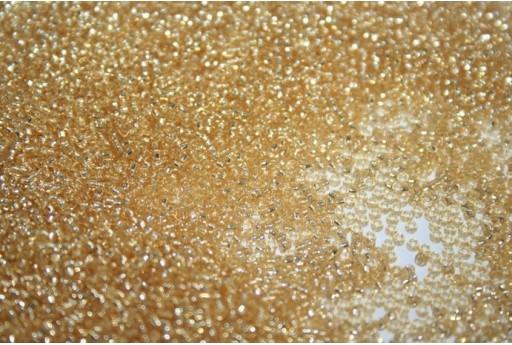 Perline Miyuki Micro Silver Lined Gold 15/0 - 10gr