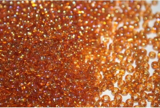 Toho Seed Beads 6/0, 10gr., Trans-Rainbow Topaz Col.162C