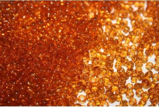 Toho Seed Beads 6/0, 10gr., Transparent Topaz Col.2C