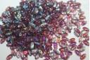 Rizo Beads 2,5x6mm, 10gr., Amethyst AB