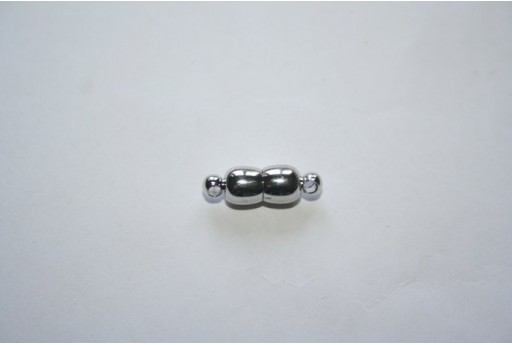 Platinum Plated Magnetic Clasp 18X6mm MIN93G