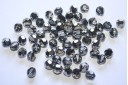 Round Swarovski Silver Night 6mm - 5pz