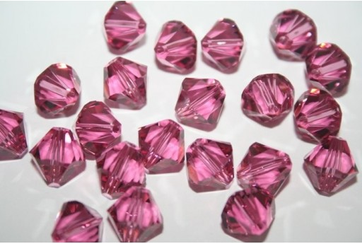 Bicono Swarovski Rose 10mm - 2pz 5328