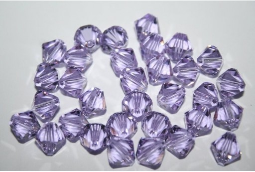 Bicono Swarovski Violet 5328 8mm - 5pz