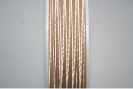 5mt. Cordoncino Soutache Bianco 3mm B1101