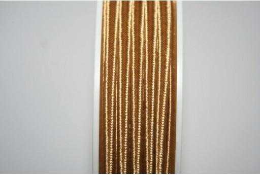 Cordoncino Soutache Giallo Scuro 3mm - 5mt