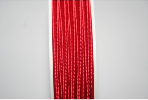 Red Soutache Cord 3mm - 5m SU-A7501