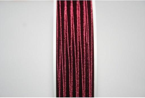 Cordoncino Soutache Rosso Scuro 3mm - 5mt