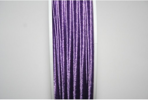 Cordoncino Soutache Viola 3mm - 5mt