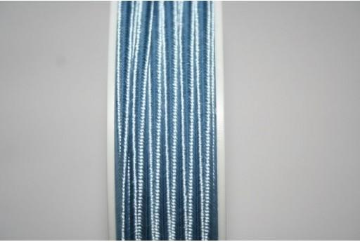 Cordoncino Soutache Azzurro 3mm - 5mt