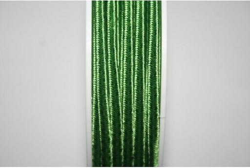 Green Soutache Cord 3mm - 5m SU-A4802