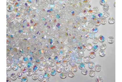 Round Swarovski Crystal AB 3mm - 10Pz