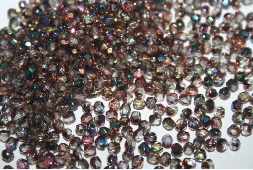 Fire Polished Beads Vitex-Crystal 3mm - 60pz