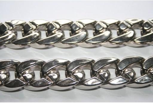 Catena Alluminio Ovale CCB 24x17mm - 50cm