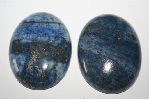 Cabochon Lapis Lazuli Ovale 30x40mm - 1pz