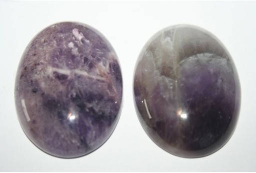 Cabochon Ametista Mexican Ovale 30x40mm - 1pz