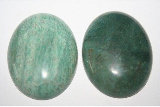 Cabochon Bloodstone Oval 30x40mm - 1pz