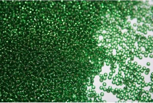 Miyuki Seed Beads Silver Lined Green 15/0 - 10gr