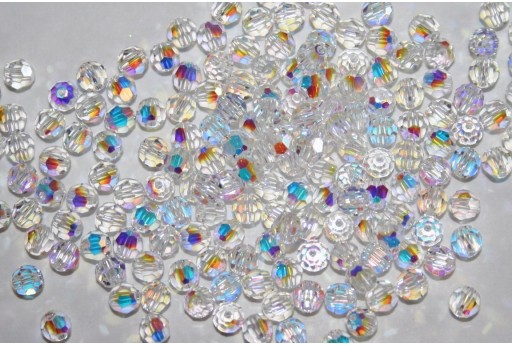 Round Swarovski Crystal AB 4mm - 10pcs