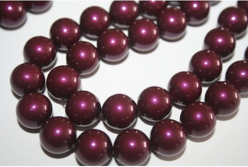 Perle Swarovski 5810 Blackberry 12mm - 2pz