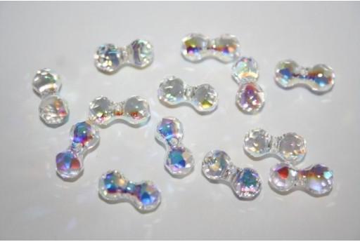 Modular Beads Swarovski Crystal AB 11x6mm - 2pz