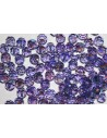 Round Swarovski Tanzanite AB 6mm - 5pcs