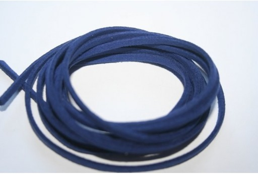 Filo Alcantara Bluette 3x1,5mm - 2mt