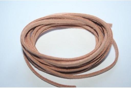2mt. Filo Alcantara Rosso 3x1,5mm MIA01A