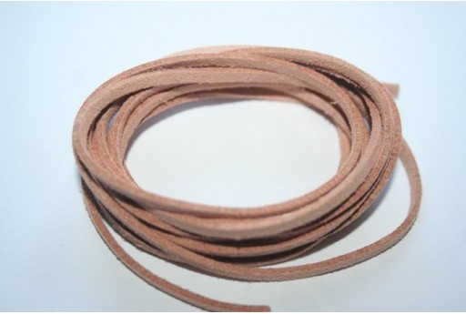 Filo Alcantara Beige 3x1,5mm - 2mt