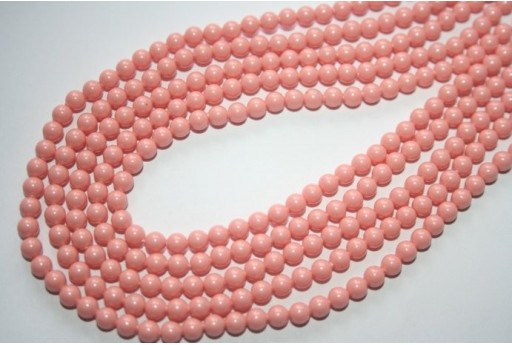 Swarovski Pearls 5810 Pink Coral 4mm - 20pcs