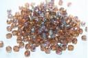 Perline Mezzi Cristalli 6mm, 30pz, Light Colorado Topaz AB Col.X10210